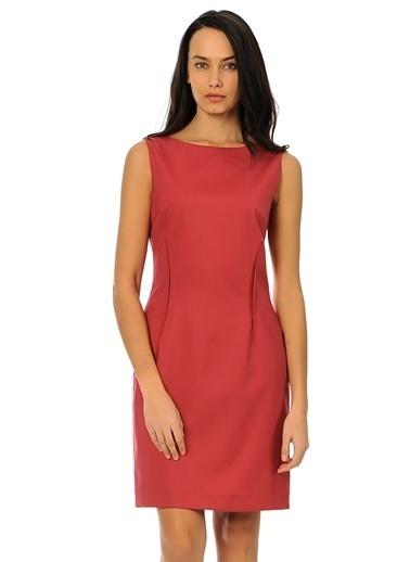 Asymmetry Elbise Fuşya